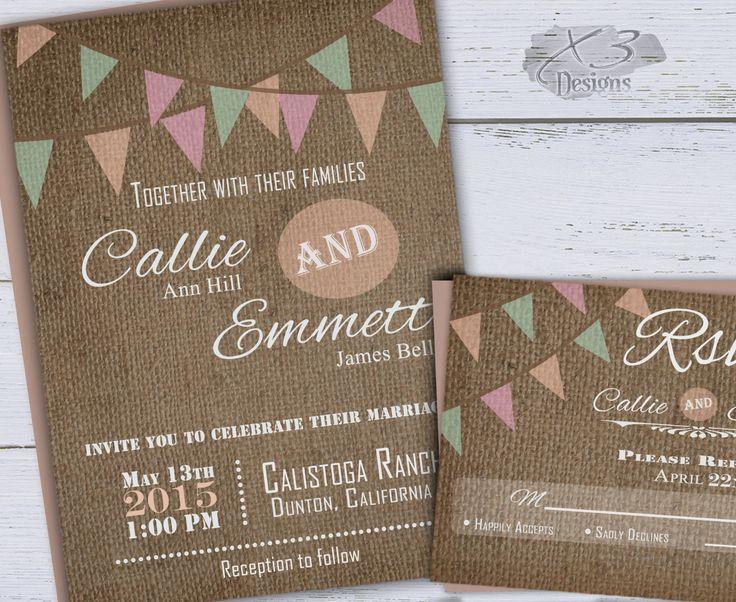 Backyard Wedding Invitation: 25+ Best Ideas About Backyard Wedding Invitations On Pinterest