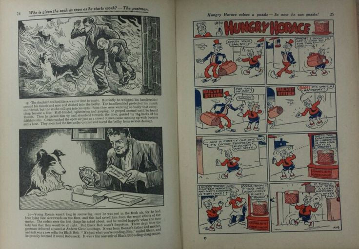 Dandy Book 1953 - Pg 24 and 25