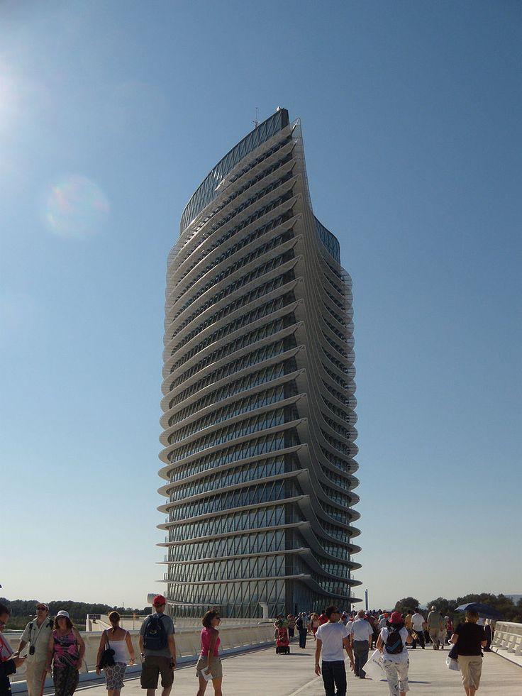 Torre del agua Zaragoza - Aragon (communauté autonome) — Wikipédia