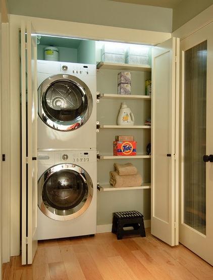 Laundry closet