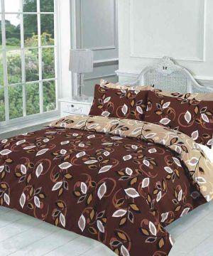grace choc-beige bedding set