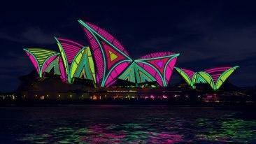 vivid,sydney,color,colour,light,festival,free,family,event
