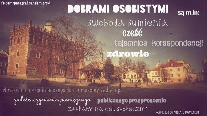 Ochrona dóbr osobistych | www.adwokat-sarzynski.pl | ul.Sienkiewicza 55 | 662742432 | Sandomierz | Stalowa Wola | Mielec | Nowa Dęba