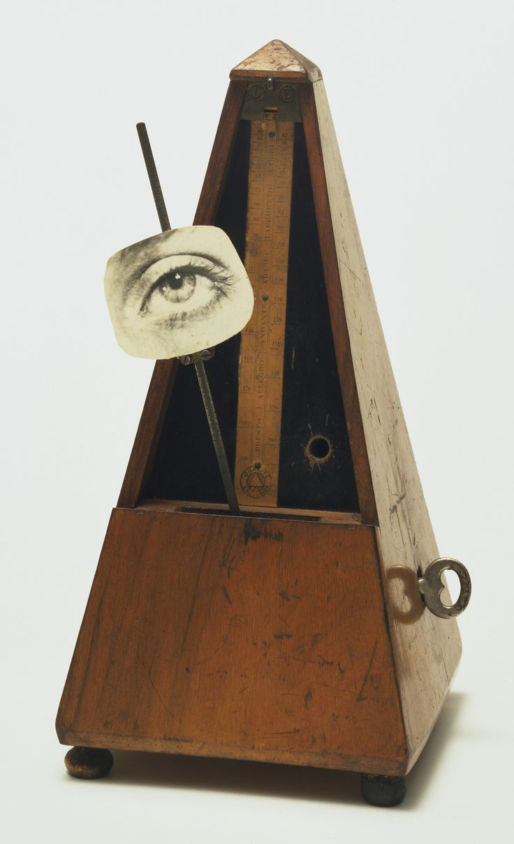 Man Ray (Emmanuel Radnitzky). Indestructible Object (or Object to Be Destroyed). 1964 (replica of 1923 original)