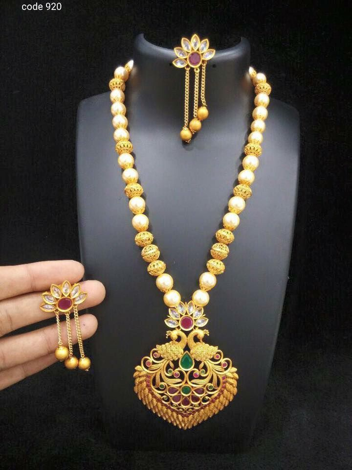 gold grams wieght set long indian chain south designs jewellery in