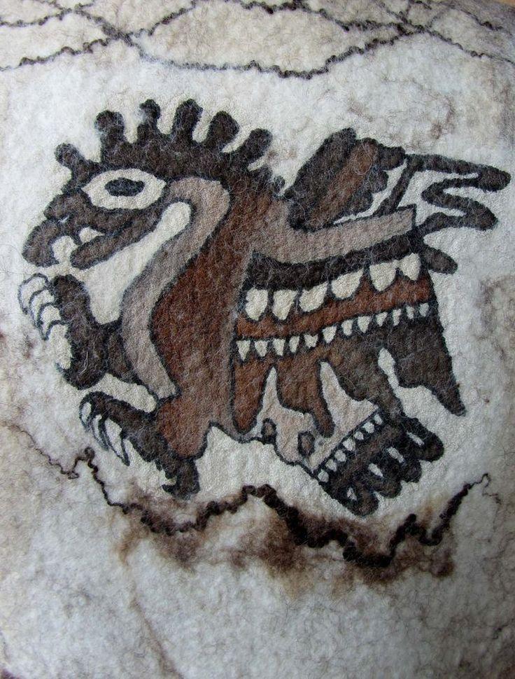 Как сделать четкий рисунок на войлоке - Ярмарка Мастеров - ручная работа, handmade