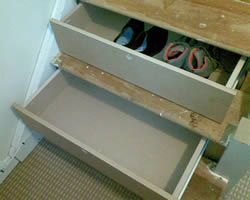 Best 20 stair drawers ideas on pinterest stair drawer for Diy staircase drawers
