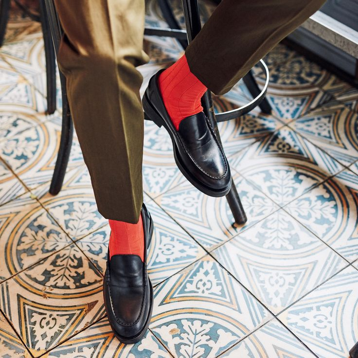 """Bresciani on How to Spend it UK - """"It's time to follow in the footsteps of the Japanese when it comes to socks, says Tom Stubbs"""""""