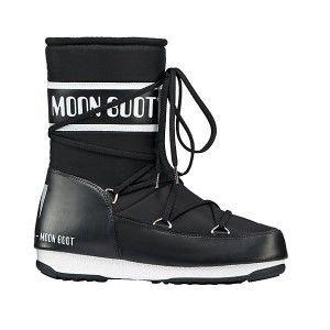 Moon Boot WE Sport Mid Black Snow Boots