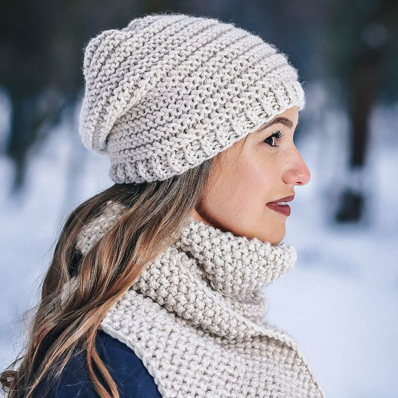 Hey, I found this really awesome Etsy listing at https://www.etsy.com/listing/485633044/chunky-set-wool-winter-scarf-winter-set
