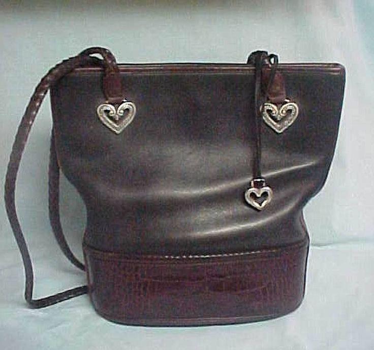 Brighton black and brown purse
