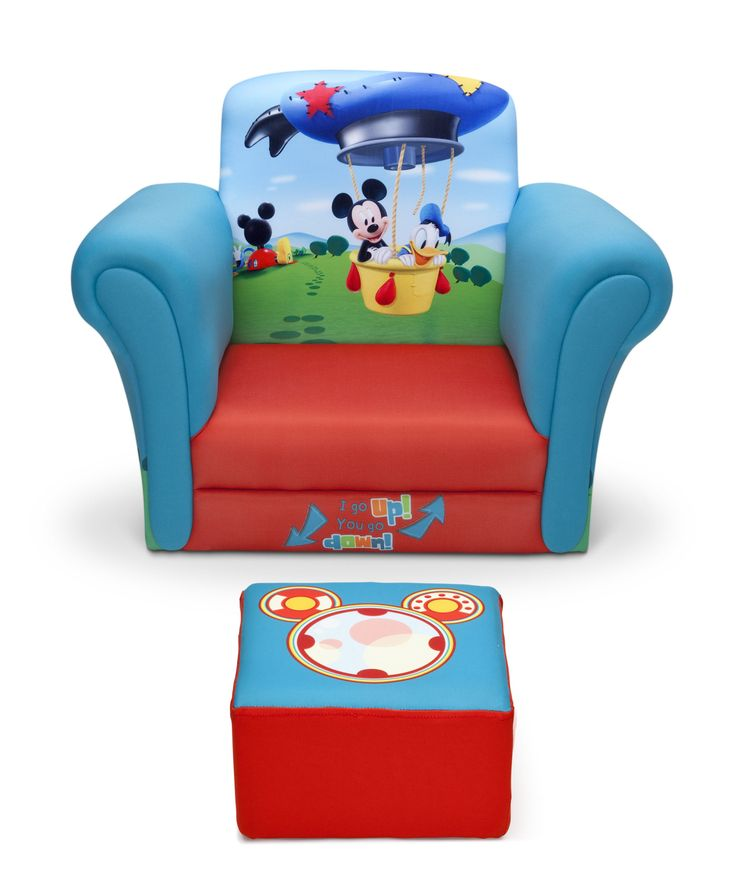 Features:  -Mickey Mouse collection.  -Hardwood frame and padded seat.  -Recommended for ages 3-6.  -Wipe clean with mild soap and water.  -Meets or exceeds all safety standards set by CPSC.  -Capacit