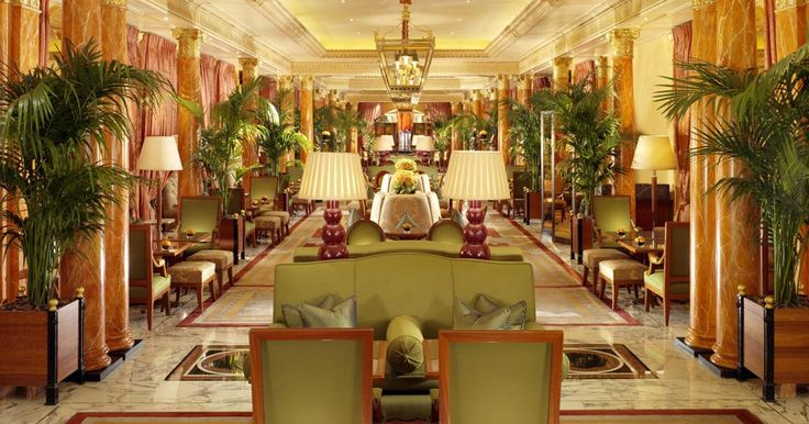 Promenade at The Dorchester, London. Elegant, festive (if you want - live piano music in the evenings), beautiful...