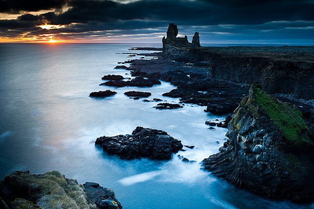 Iceland l ndrangar sn fellsnes by mar smith for Fontana islandia