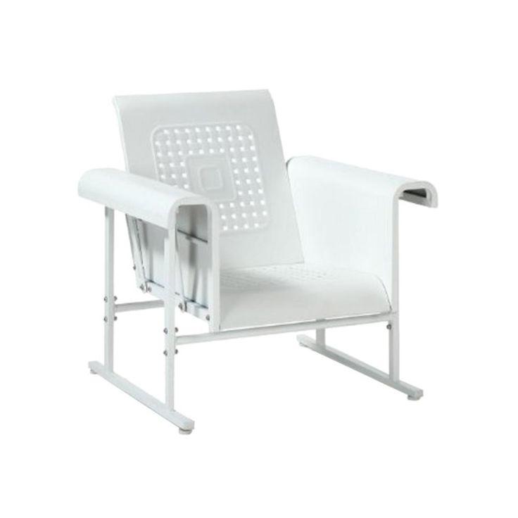 Danny Glider Chair in Red | dotandbo.com