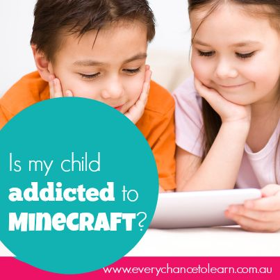 Is My Child Addicted to Minecraft?