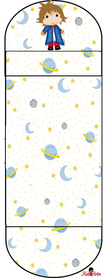 The Little Prince: Free Printable Original Nuggets Wrappers. | Oh My Fiesta! in english