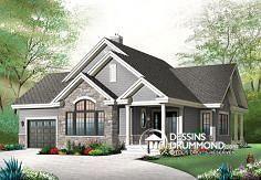 Plan de maison no. W3235-V2 de dessinsdrummond.com