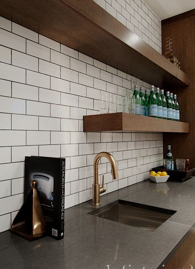 Floating Shelves Wet Bar Wet Bar Inspiration Pinterest