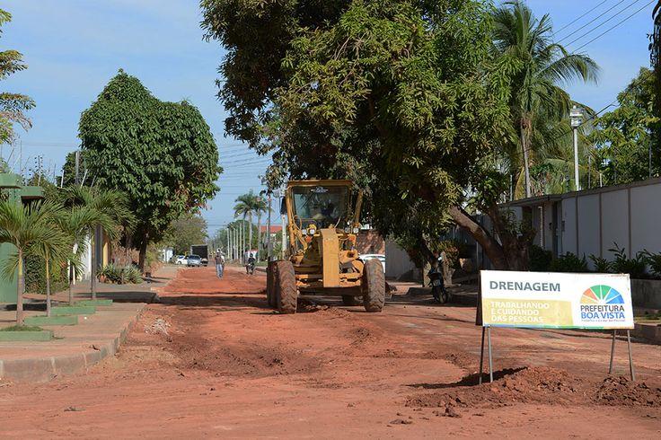 Prefeitura de Boa Vista, obras de drenagem atendem diversos bairros da capital #pmbv #prefeituraboavista #boavista #roraima #obras