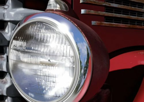Create a headlight from scratch in Photoshop: Pixel Playground with Bert Monroy, on lynda.com.