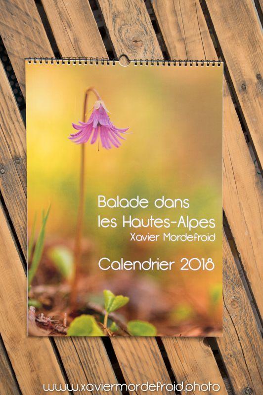 Calendrier 2018 des Hautes-Alpes France