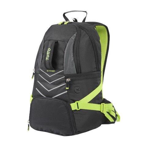 SS162 - REFLEX   Sporty backpack     ¡Tu morral se protege de la lluvia! Lleva este morral a recorrer la ciudad en bici. Practico, ergonómico ideal para que lleves tus aventuras al máximo, cuenta con rain cover, salida de audio y gran capacidad.