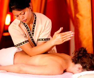 Thai massage, also known as Nuad Bo-Rarn in its traditional form, is a type of oriental bodywork therapy that is based on the treatment of the human body, mind, and spirit