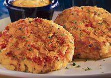 Red Lobster crab cakes.