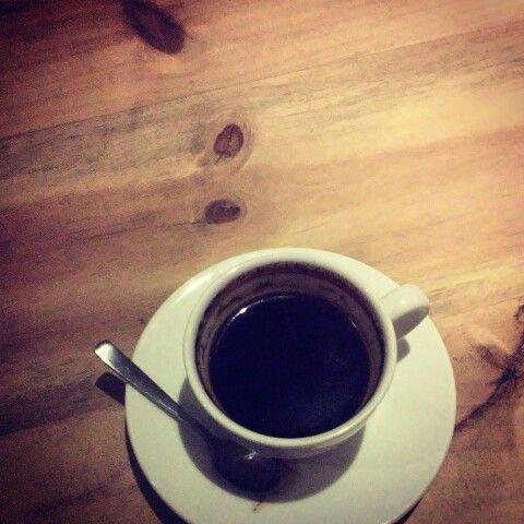 Black, as hell | Hanya Warung, Sewon, Bantul, Yogyakarta