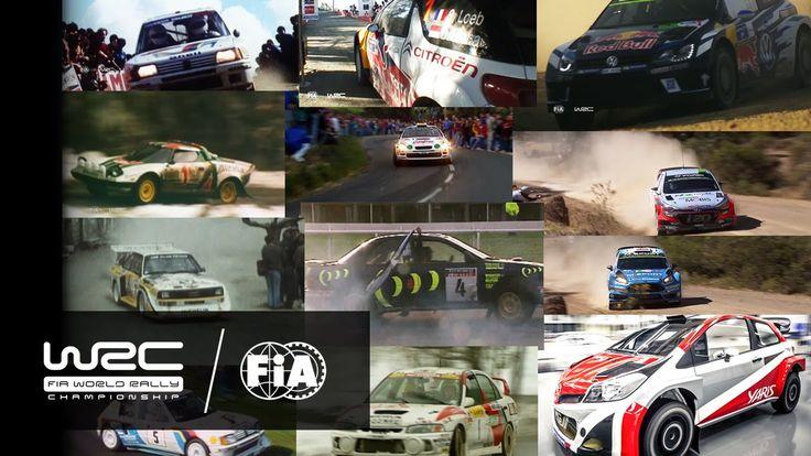 WRC Evolution 1973 - 2017