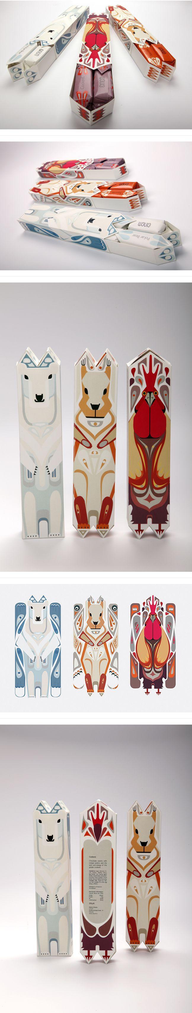 Julia Agisheva创意包装设计...