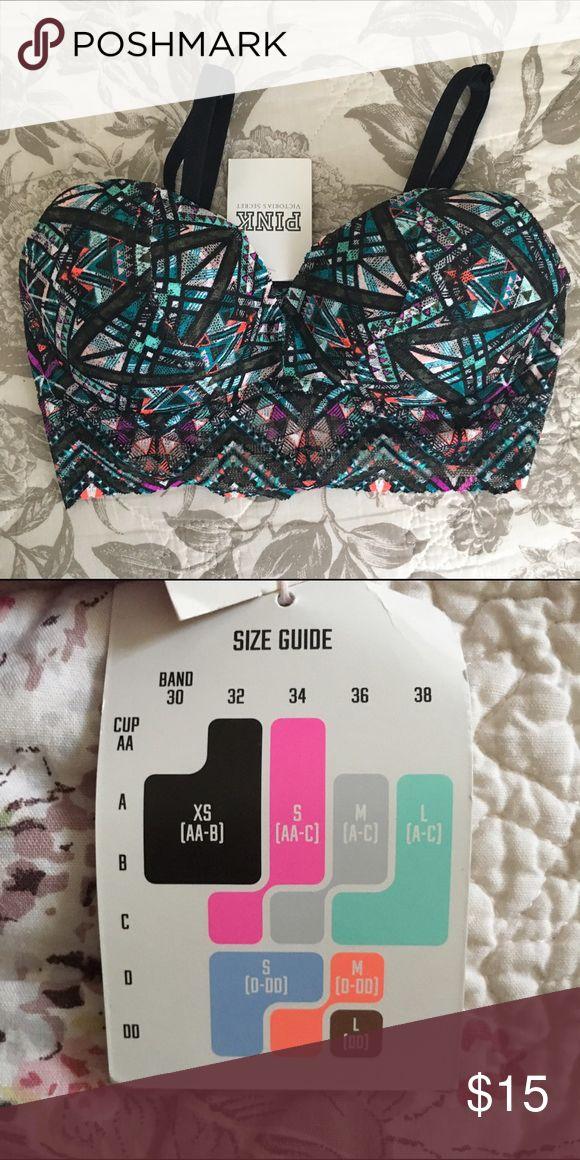 (XS 30A-B; 32AA-B) VS PINK Push Up Lace Bra (XS 30A-B; 32AA-B) VS PINK Push Up Lace Bra Size: XS 30 A-B; 32AA-B Originally $36.95 Brand new; Tags still attached PINK Victoria's Secret Intimates & Sleepwear Bras