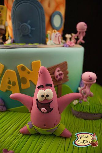 Sponge Bob cake   Flickr - Photo Sharing!