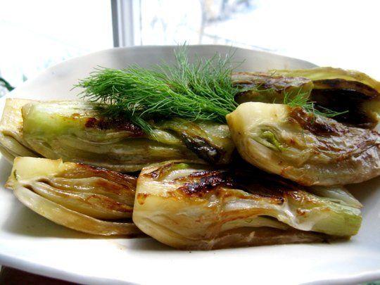 ... fennel mushrooms fennel gratin fennel syrup salmon with braised fennel