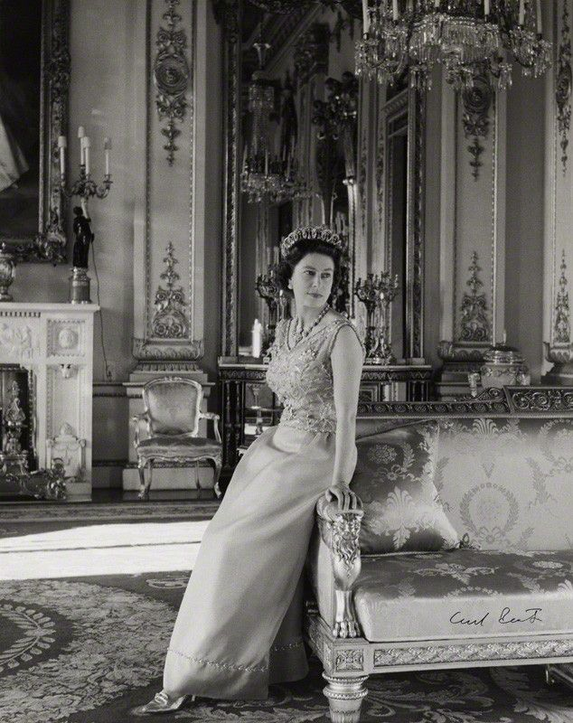 Her Majesty, Queen Elizabeth II, by Cecil Beaton, October 1968.