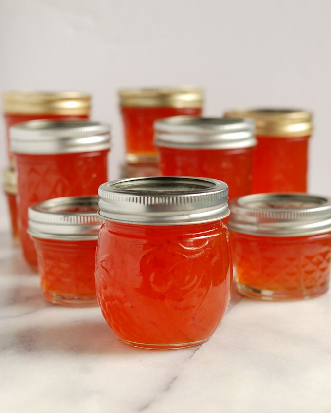 Ghost Peppers, or Bhut Jolokia, are one of the hottest peppers on the planet. Tame the of these firecrackers by making sweet-hot Ghost Pepper Jelly.