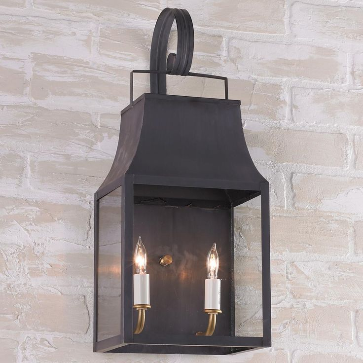 Capital Outdoor Wall Lantern from Shades of Light