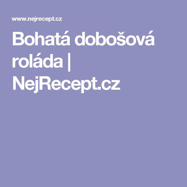 Bohatá dobošová roláda | NejRecept.cz