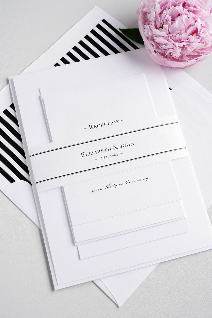 18 Best Classic Invites Images On Pinterest Custom Invitations