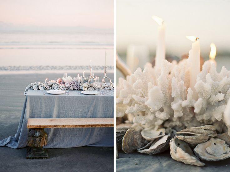 Inspiration mariage mer - décoration table mariage coquillages– La Fabrique des Instants