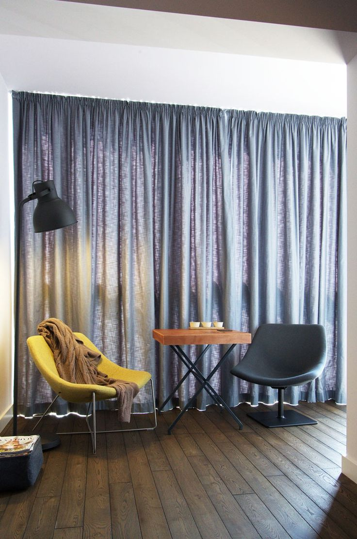 Interior Design: Stylish Along With Chic Poland Apartment Lounge Space Near Modest Furniture from Apartment Design in Natural yet Modern Concepts