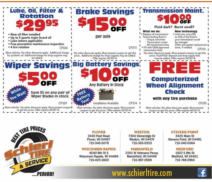 Sears tire deals 2018