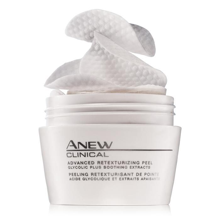 Avon anew facial peel how paraphrase?