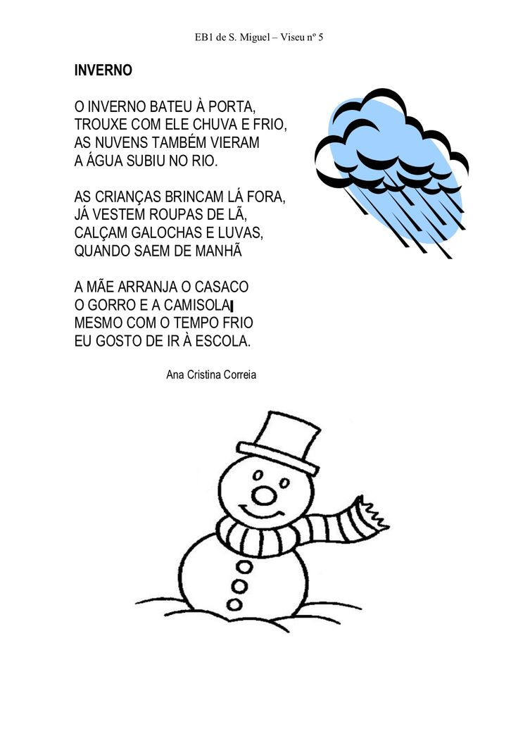 Poesias de inverno by labeques via slideshare