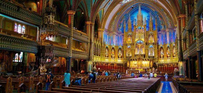 Туристический форум   - Базилика Нотр-Дам де Монреаль: 7000 органных труб!