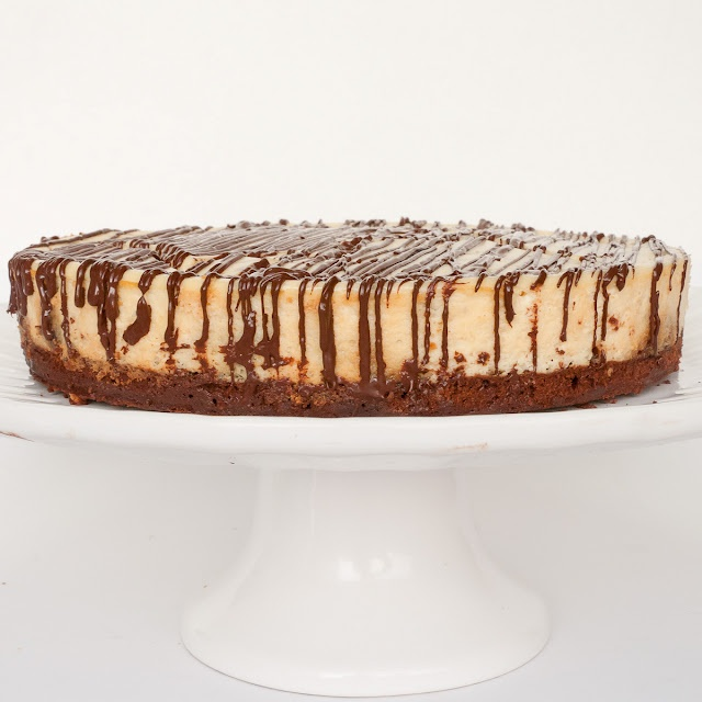 Rolo cheesecake. Trying to find the best recipe for my moms bday cake.