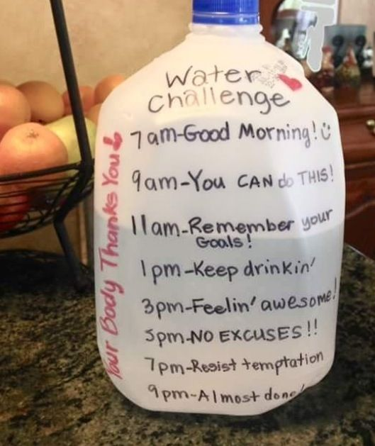 Water Jug challenge -- I'm gonna do this!! #weightlossmotivation