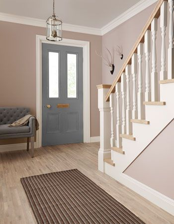 Crown Paints hallway paints - Hallway colours: 2015 trends - Homes - allaboutyou.com I like the wall color, not the door color