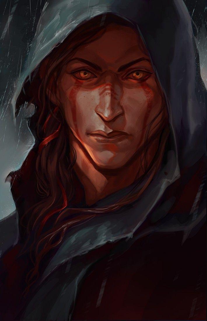 character, game, fantasy, the elder scrolls, skyrim, tes: skyrim, bosmer, dark brotherhood